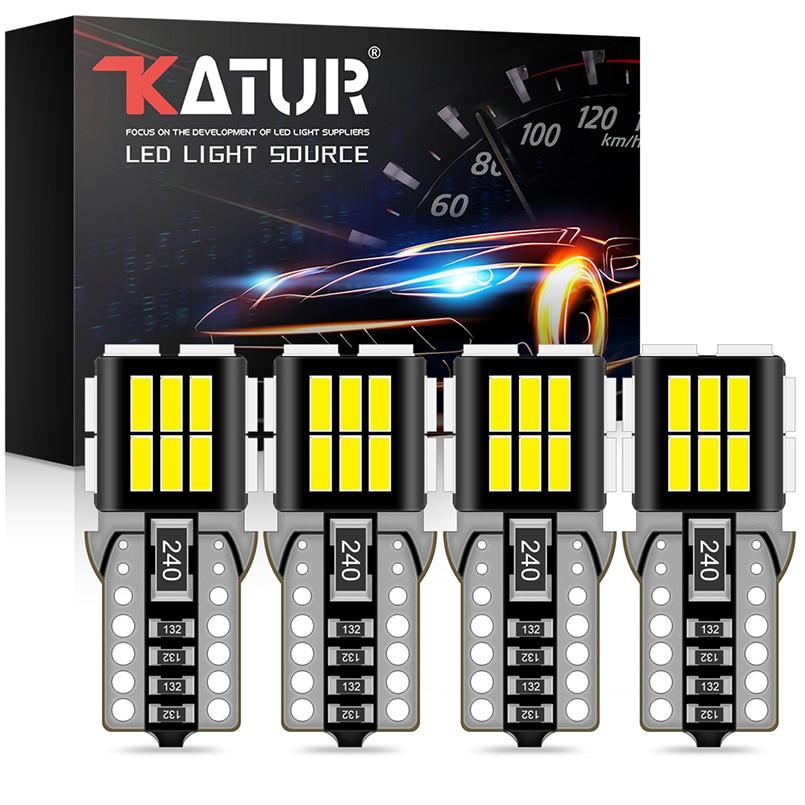 4 шт. T10 W5W светодиодные лампочки Canbus 4014 SMD led освещение для чтения в машине Подсветка салона белый желтый красный Iceblue для BMW Audi Mercedes benz