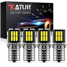 4 pçs t10 w5w led canbus lâmpadas 4014 smd led luzes de leitura do carro interior branco âmbar vermelho iceblue para bmw audi mercedes benz