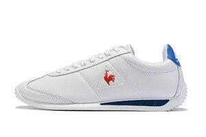 Image 1 - Le Coq Sportif מקרית עור סינטטי גברים של נעלי ספורט לנשימה אופנה גברים ונשים זוג נעלי ריצה (גודל: 36 44)