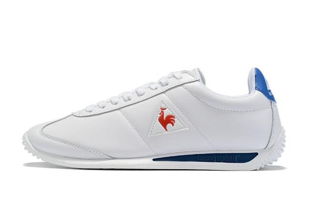 Le Coq Sportif מקרית עור סינטטי גברים של נעלי ספורט לנשימה אופנה גברים ונשים זוג נעלי ריצה (גודל: 36 44)