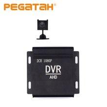 4-дюймовый небольшой цифровой видеорегистратор со встроенным вентилятором 1080p 2CH CCTV DVR HD DVR CCTV DVR kit HDMI CVBS система безопасности