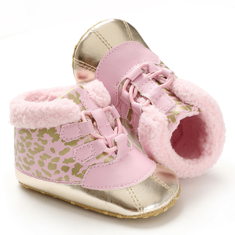 Baby Girl Boots Toddler Snow Infant Boots Boy Baby Girl Shoes Winter Warm Little Girl Shoes Newborn Snekers
