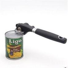 Profissional abridor de lata manual abridor de lata abridor de lata manual de garrafa abridor de lata de aço inoxidável ferramentas da cozinha acessórios