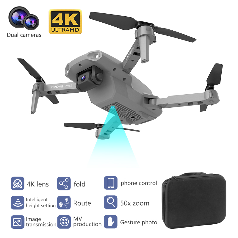 LSKJ E99 Pro2 RC Mini Drone 4K HD Dual Camera WIFI FPV Professional Aerial Photography Helicopter Foldable Quadcopter Drone Toys 5
