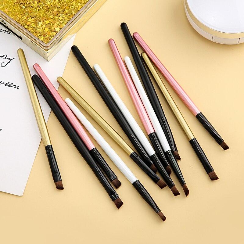 3Pcs/Sets Wholesale Manufacturers Of High-end Single Cream Eye Shadow Brush Eyebrow Brush Bulk Packaging Makeup Brushes H519