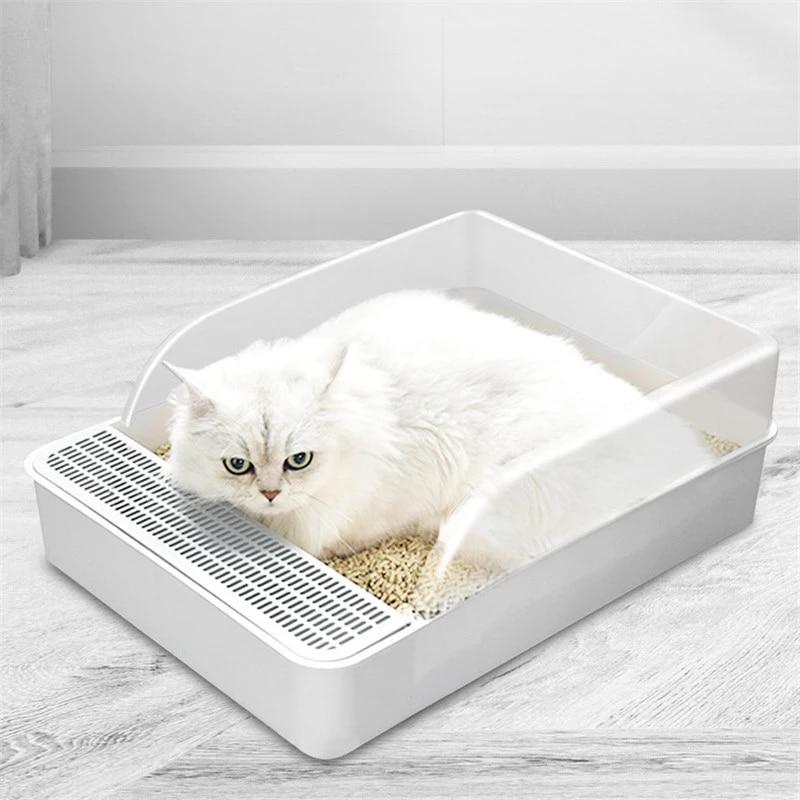 Pet Toilet Bedpan Anti Splash Cats Litter Box Cat Dog Tray With Scoop Pet Cat Clean Toilette Home Plastic Litter Tray Supplies Litter Housebreaking Aliexpress