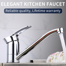 Olinia Rotatable Kitchen Faucet Sink With Single Handle Hot And Cold Water Mixer Taps Rotation Stylish And Modern OL8094