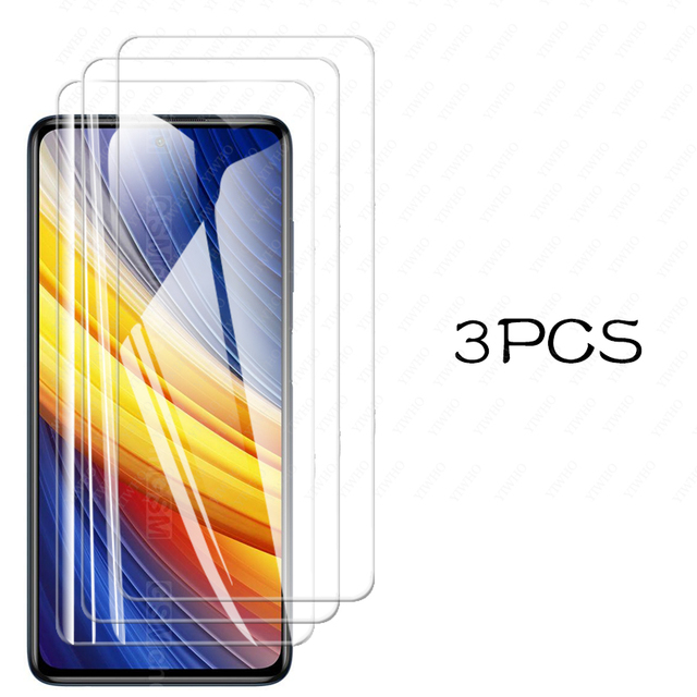 For Poco X3 Pro Screen Protector Glass for Xiaomi Poco X3 Pro Tempered Glass for Poco F3 M3 X3 Nfc Pro X3pro Camera Lens Glass 5
