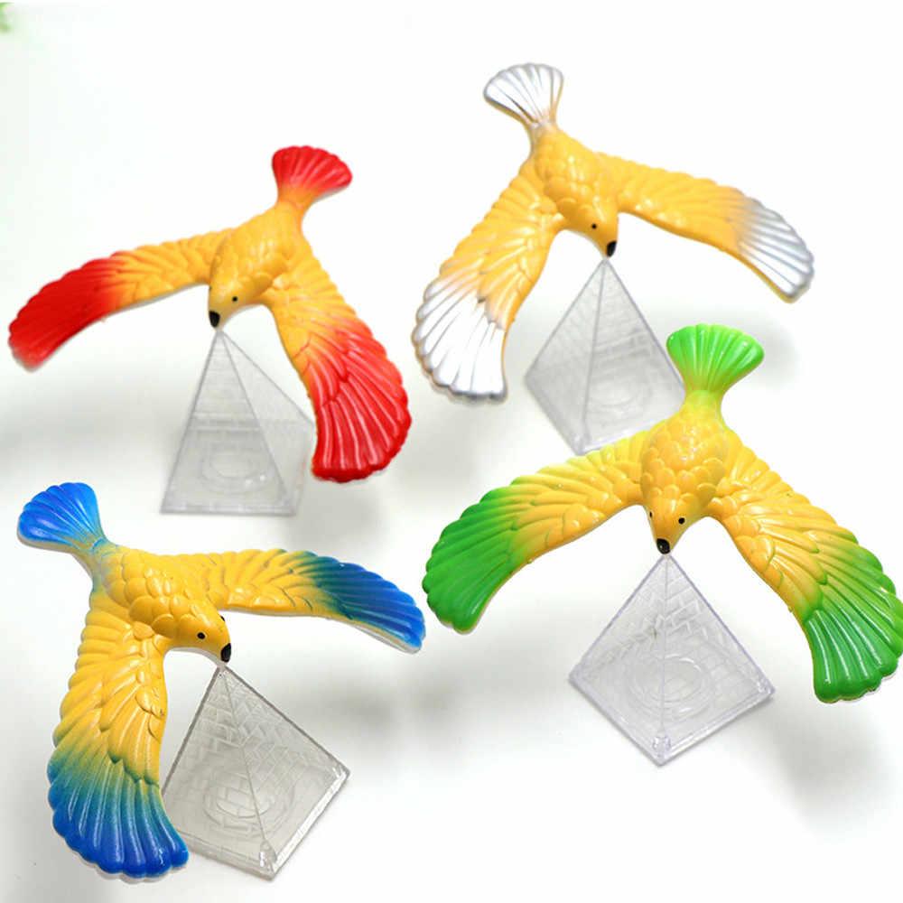 Inanılmaz dengeleme kartal piramit standı sihirli kuş masa çocuk oyuncak eğlenceli öğrenmek oyuncak çocuklar için eğlenceli