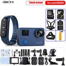 Экшн камера ultra hd 4k nt96660 wi fi 12 МП 7 стекол пульт дистанционного