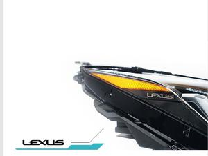 Image 2 - 2017y автомобильный bupmer передняя фара для Lexus передсветильник X200 NX200T NX300T автомобильные аксессуары все в светодиодный ном тумане для Lexus передняя фара