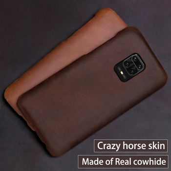 Leather Phone Case For Xiaomi Redmi Note 9s 8 7 6 5 K30 10X Mi 9 se 9T 10 Lite A3 Mix 2s Max 3 Poco F1 X2 F2 Pro Horse Cover