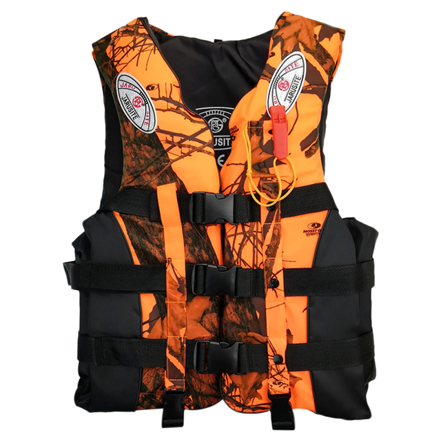 Professional Life Jacket for Adult S-XXXL with Emergency Whistle 6
