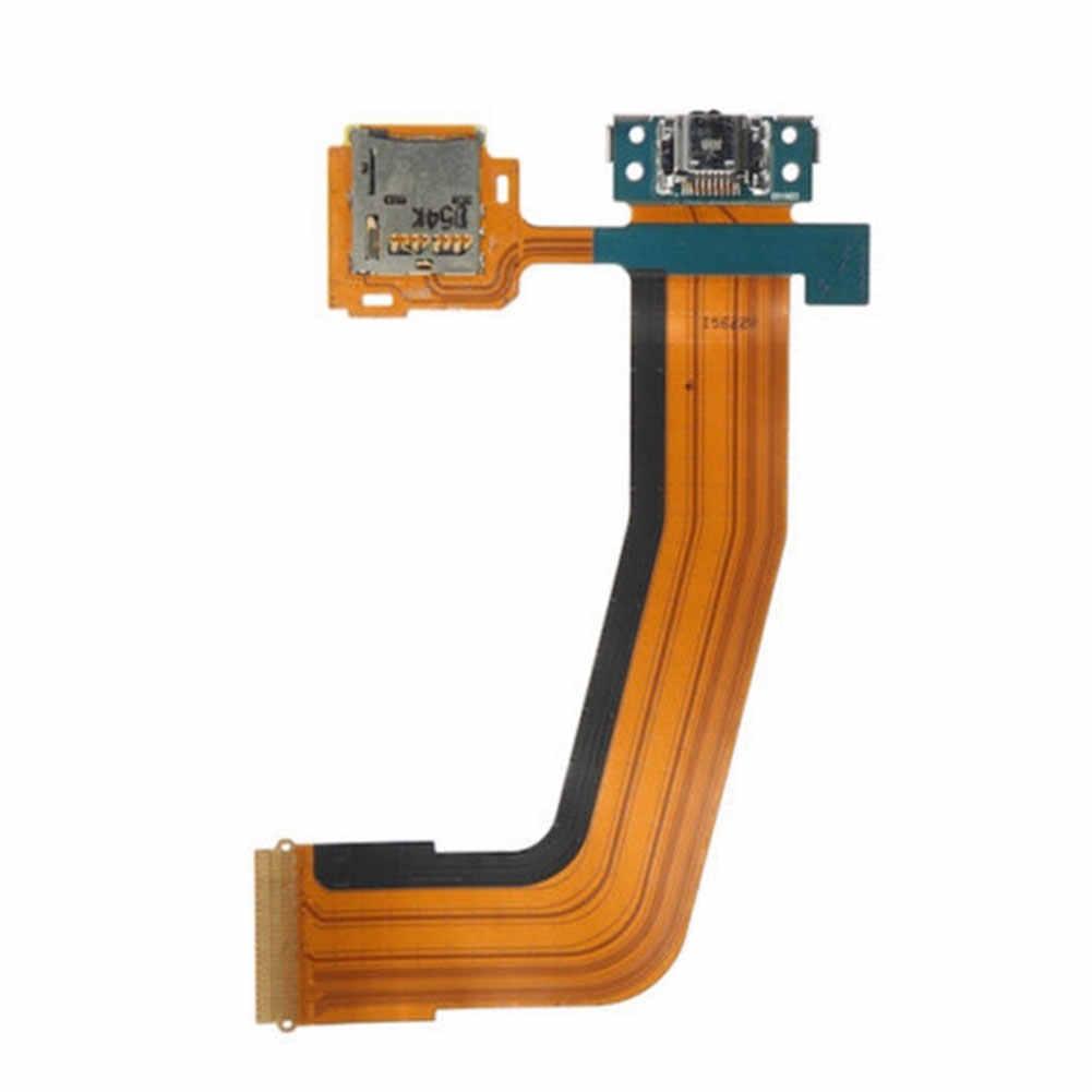 Замена плоской карты Micro практичный кабель с хвостовым штекером электронная протестированная usb зарядка плата интерфейса для samsung Tab T800