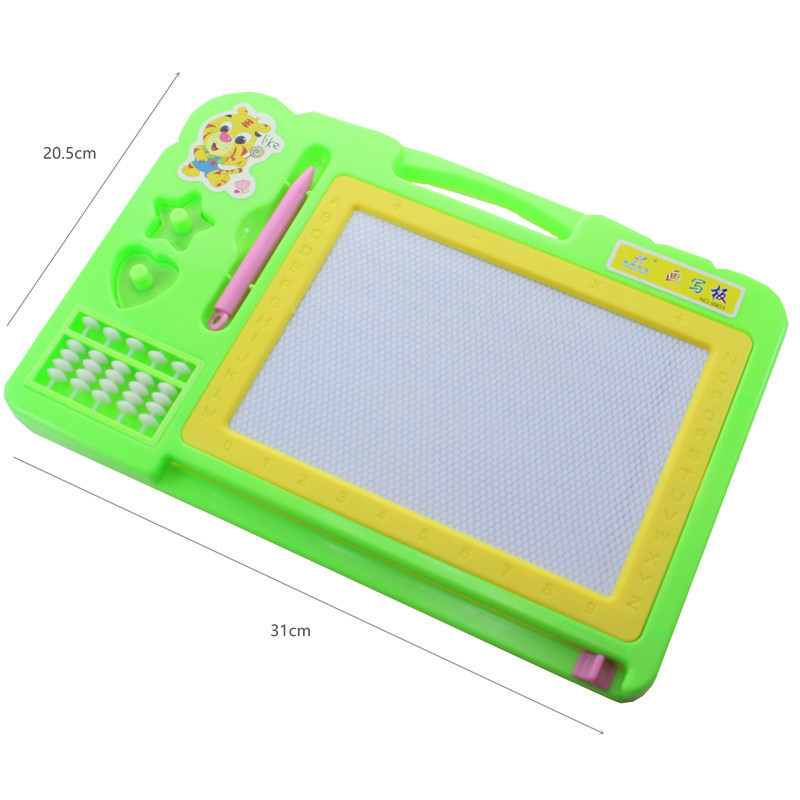 Children ENLIGHTEN Magnetic Drawing Board DIY Painted Graffiti Writing Board Early Childhood Educational Toy