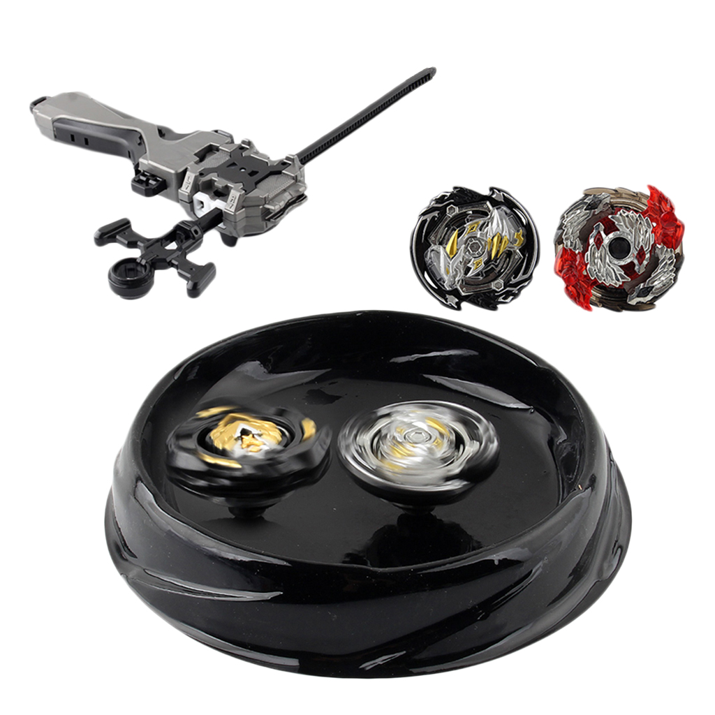 4Pcs 4D Gyro Spinning Top Fierce Fighting Battle Toys Set for Kids Children