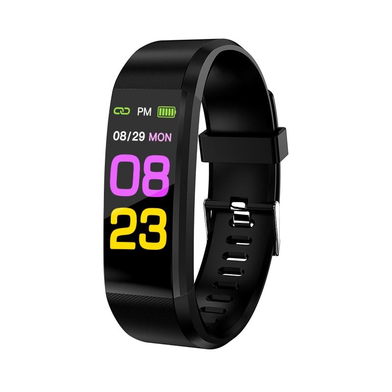 2020 Smart Bracelet Watch Man Wen Waterproof Blood Pressure Measurement Fitness Tracker Camera control Pedometer TPU Smart Band