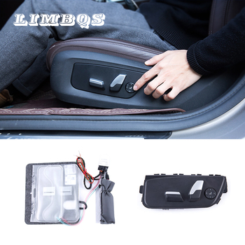 Car Seat Chair Lumbar Back controllable Support for BMW F10 G30 car adjustment seat lumbar cushion drive relieve back pain brace