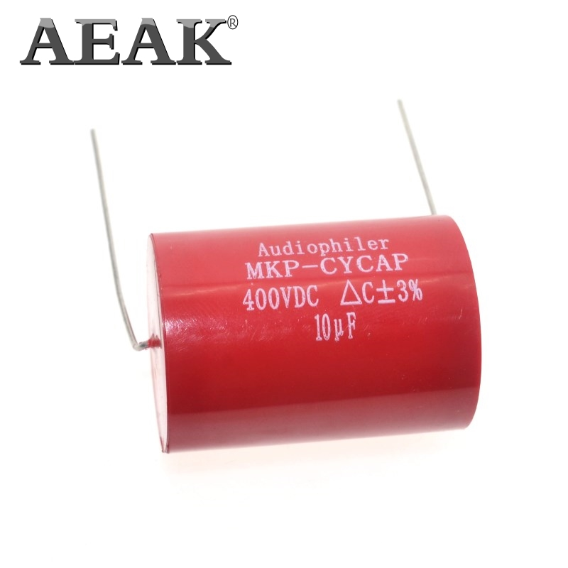 AEAK Audiophiler Axial MKP 250V 400V 630V DC HIFI DIY Audio Grade Capacitor For Tube Guitar Amps