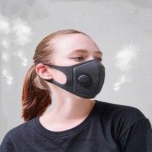 Esponja unisex a prueba de polvo PM2.5 Contaminación Media Cara Mascarilla bucal