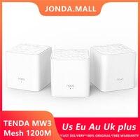 Tenda Nova Mw3 беспроводной Wifi роутер AC1200 весь дом двухдиапазонный 2,4 ГГц/5,0 ггц Wifi ретранслятор сетка WiFi система приложение дистанционное управле...