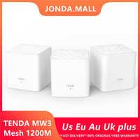 Tenda Nova Mw3 Senza Fili Wifi Router AC1200 di Tutta La Casa Dual Band 2.4 Ghz/5.0 Ghz Wifi Ripetitore di Rete WiFi sistema di APP Remote Gestire