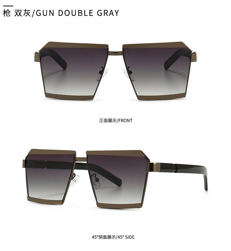 Jackjad óculos de sol de cor dupla,