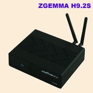 Image 3 - Yeni sürüm ZGEMMA H9.2S Linux OS Enigma2 dijital 4K UHD DVB S2 alıcısı 2000 DMIP e n e n e n e n e n e n e n e n e n e tuner uydu TV alıcı dekoder