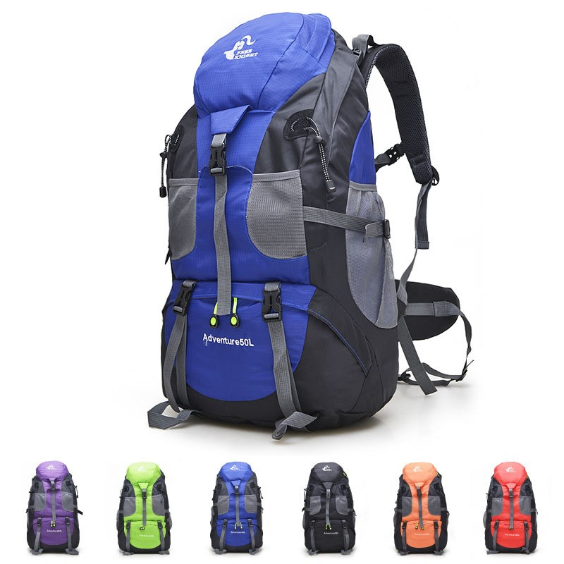 Free Knight Outdoor Backpack Men And Women Riding Sports Travel Mountaineering Bag 50L