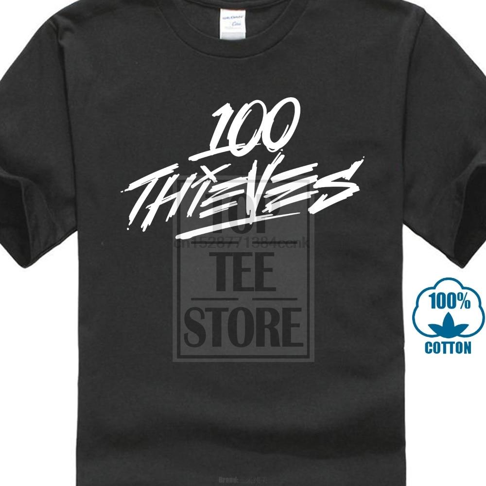100 Thieves Logo 3 Popular Tagless Tee T Shirt