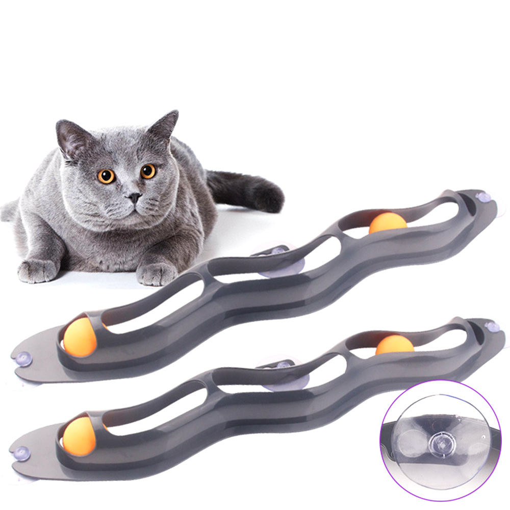 Купить игрушки для домашних животных кошек интерактивный трек мяч игрушка