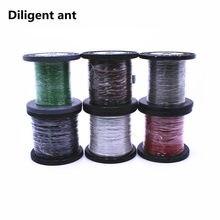 Fio eletrônico ultrafino de alta temperatura fluoroplastic 26awg 28awg 30awg 32awg 34awg ultra-fino especial ok eletrônico