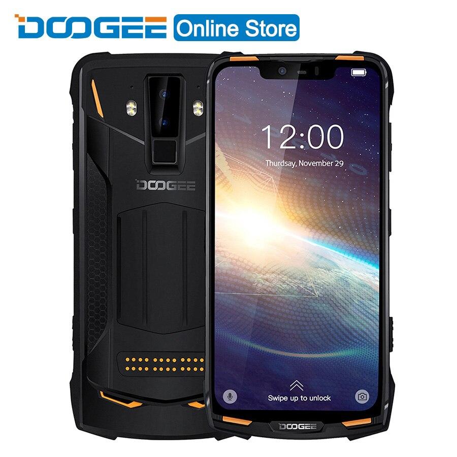 Original DOOGEE S90 Pro Neue 6G RAM 128G ROM Fingerprint Gesicht Entsperren Hinten Kamera 21MP 5080 mAh Octa core 4G Dual SIM Schnelle Ladung