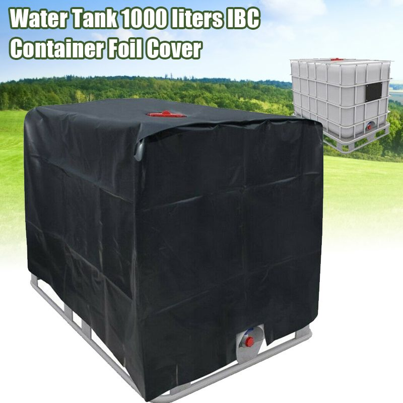 For Rain Water Tank Cover 1000 Liters IBC Container Outdoor Yard Garden Sofa Waterproof Dust Cover Sun Protection Oxford Cloth