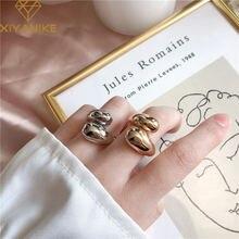 Женские кольца на палец xiyanike винтажные креативные витые
