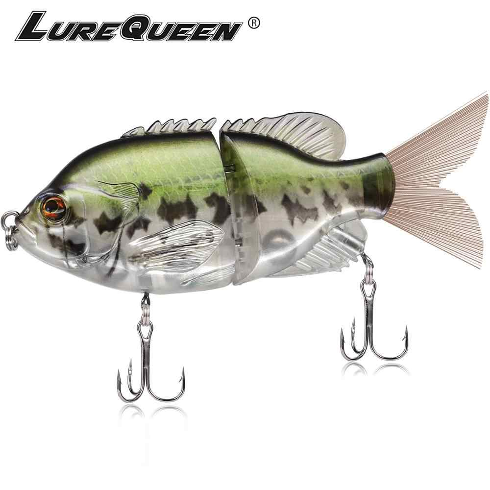 Fishing Lure Metal Jointed Swimbaits Glidebaits Hard Lures for Bass Fishing Tackle Pike Cebe For Large Fish
