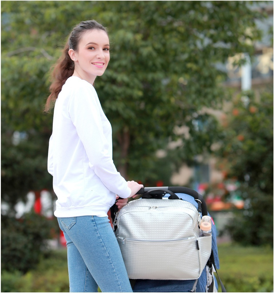 H777a8efde90c4a8dad51e219131ab526P Soboba Mommy Maternity Diaper Bags Solid Fashion Large Capacity Women Nursing Bag for Baby Care Stylish Outdoor Mommy Bags
