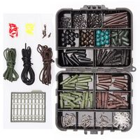 Fishing Tackle box bundle carp safety weight clips hooks swivels Quick links|Rod Combo|Sports & Entertainment -