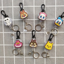 Retractable Key Chain Cute Cartoon Nursing Card Holder, Card Holder, Badge Holder, Badge Reel, 2020 New, Retractable Badge Clip