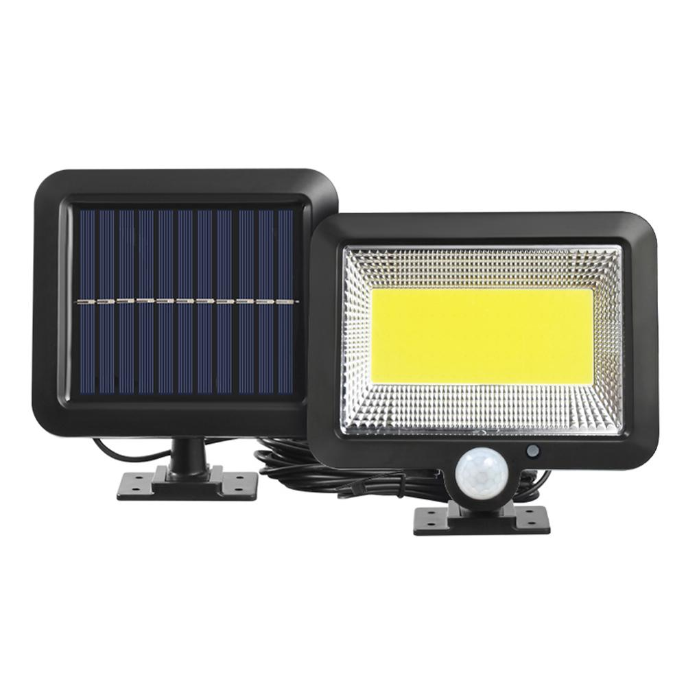 3 Modes 120LED COB Solar Wall Light PIR Motion Sensor Outdoor Waterproof Garden Solar Power Lights Street Path Lamp Dropshipping