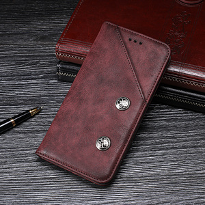 Image 1 - Für Oukitel K7 Pro Fall Luxus Retro Niet Brieftasche Flip Leder Telefon Fall Für Oukitel K7 Power Abdeckung Coque Zubehör