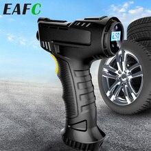 Auto Luchtcompressor Draadloze Opblaasbare Pomp Draagbare Luchtpomp Autoband Inflator Digitale 120W Oplaadbare Voor Auto Fiets Ballen