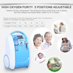 Image 2 - 5L Medical Portable Oxygen Concentrator Generator Home Oxygen Generator 24 hours continuous oxygen flow respirators