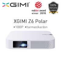 Xgimi Z6 Polare Mini Dlp Full Hd Proiettore 1080P Del Teatro Domestico 4K 700 Ansi 3D Android Wifi Bluetooth proiettori a Led Smart Beamer