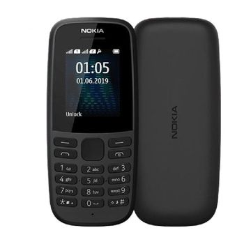 Nokia 105 4ta Dual Sim Edition Black