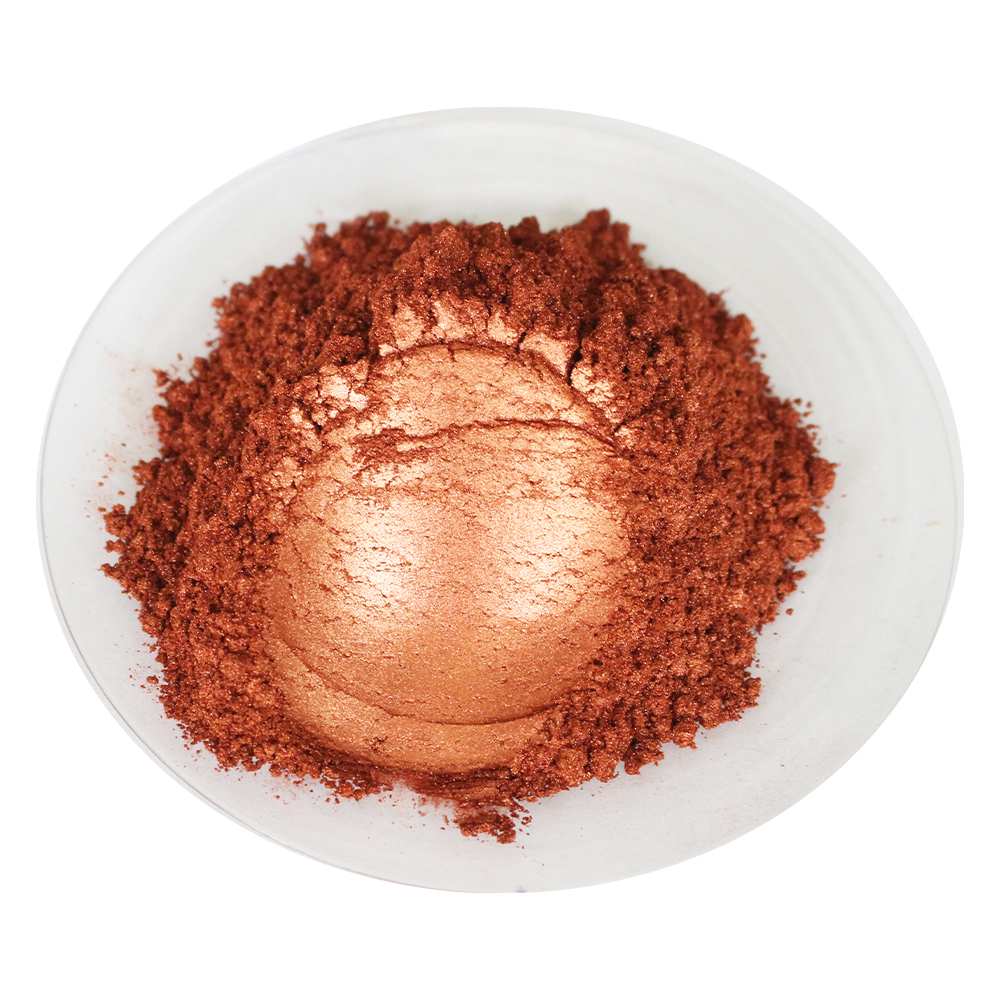 Brown Red Pearl Powder Pigment Acrylic Paint Pigment Coating For Eyeshadow Car Paint Nail Polish Crafts 50g Mica Powder Pigment