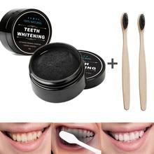 Blanqueador Dental de 30g, polvo de carbón activado Natural para el cuidado Dental, higiene bucal