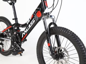 Mondshi20 inch mountain bike 21 speed disc brake shock absorption front fork 2