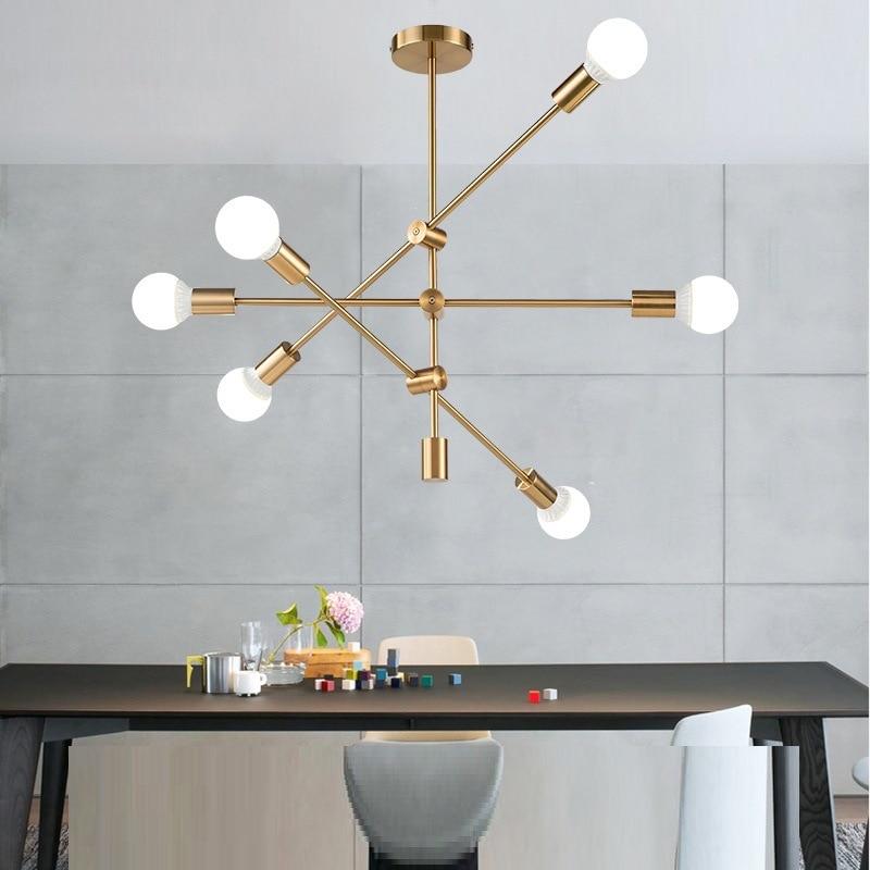 Modern Pendant Lighting Restaurant Coffee Bedroom Light Lustre Industrial Pendant Lights For Dining Kitchen Restaurant Lamp