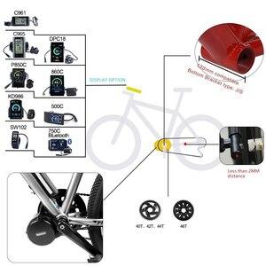 Image 5 - Mid Drive Motor Universal 48V 52V 1000W 120mm Bafang 8Fun BBS03 BBSHD Electric Bike Conversion Kit Powerful eBike Part